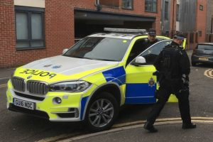 firearm and ammunition recovered in tadworth after man caught using a mobile phone