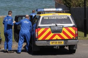 isle of wight coastguard teams assist ambulance after 10 year boy falls at smugglers haven