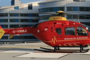 man airlifted following bilston collision