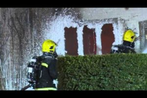 million pound house gutted by fire