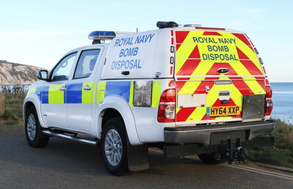 road closed after unexploded bomb find in shorwell on the isle of wight