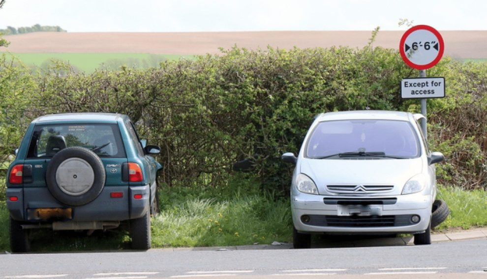 third party driver of newport smash appeals for information after driver makes off