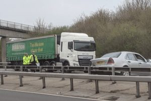 updated m3 closed eastbound between j2 m25 and j1 following serious collision