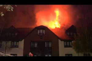 wokefield park hotel fire in berkshire