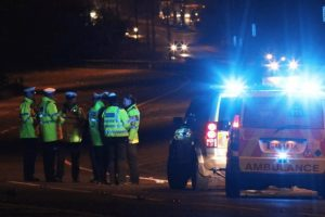a3 closed following serious collision