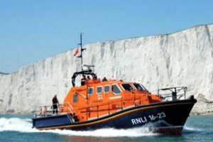 eastbourne lifeboat recover two bodies following multi agency at beachy head