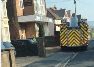 faulty fire alarm sparks fire service responce