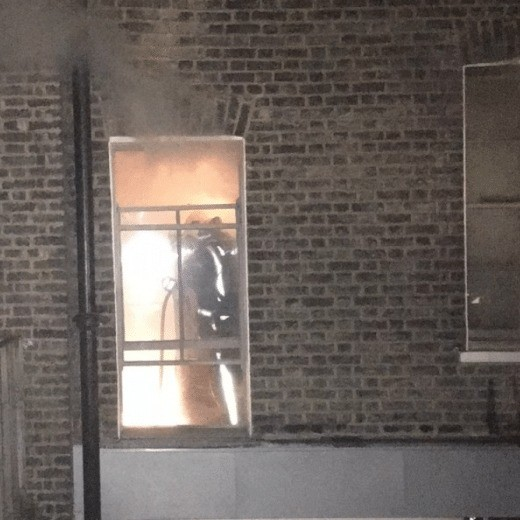 faulty fridge causes fire to rip through westminster restaurant