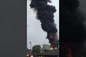 fire breaks out at south bristol sports centre