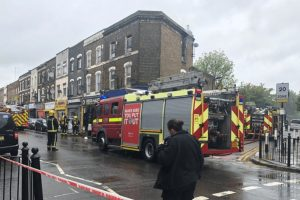 fire crews called to tackle blaze in tottenham