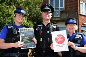 isle of wight police are hoping that a new initiative will be a first class special delivery to the community