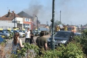 kebab shop out of business after fire rips through property in kent