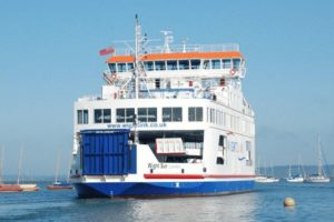 linkspan issues on wightlink at yarmouth