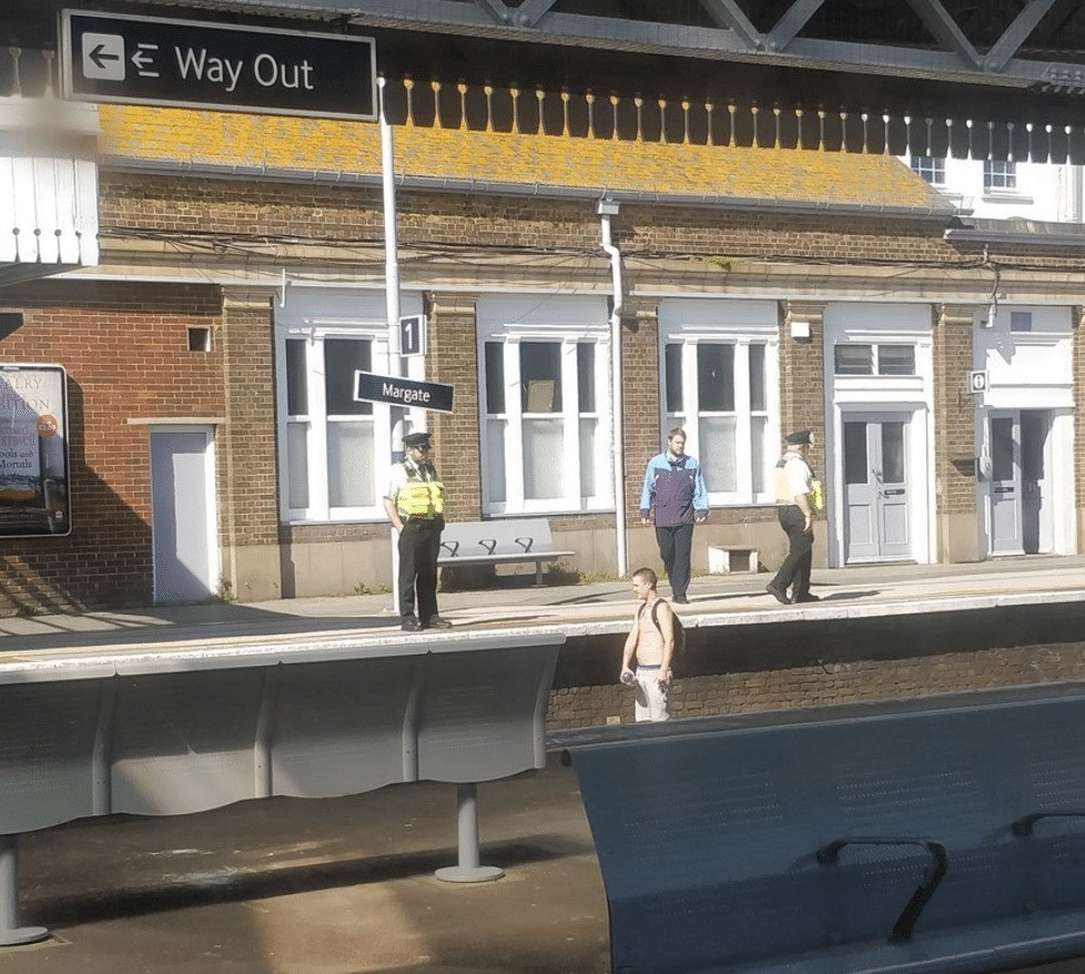 Man Arrested After Jumping On To Railway Line In Margate Causing Major Delays