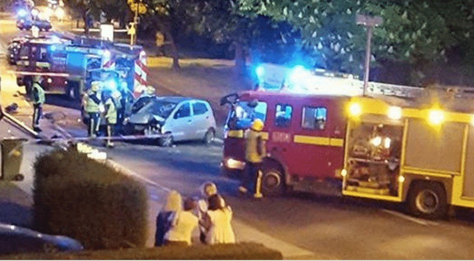 pensioner taken to hospital following collision with lampstand in new eltham