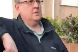 sainsburys supermarket worker mike doling stung by pompey predator watch