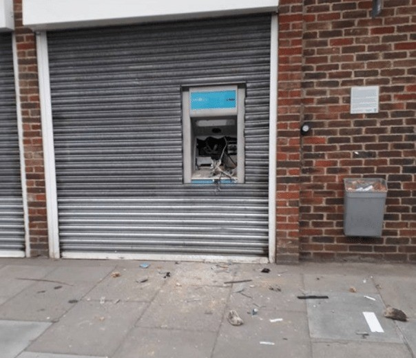 Three Yobs Being Questioned After Cashpoint Is Damaged In Broadstairs