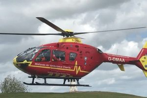 woman airlifted with major trauma to queen elizabeth hospital in birmingham