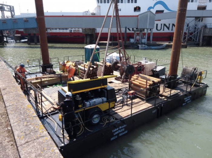 work commeces for new red funnel berth in cowes