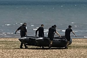 500 meter cordon in place after unexploded bomb found near fareham