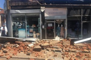 building collapses in north west london