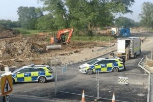 controlled explosion carried out in herne bay