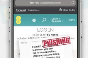 fake ee billing texts being sent out there a scam
