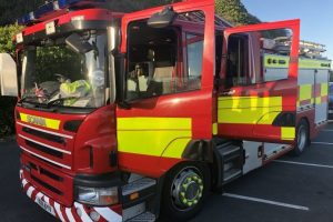 fire crews from across island called to ventnor winter gardens to smell of burning