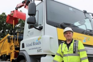 island roads put safety first with new 26 tonne lorry