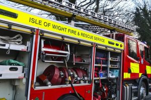 isle of wight fire crews called to fire near downend newport