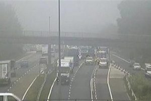 lorry driver dies after collision near junction 3 of m25