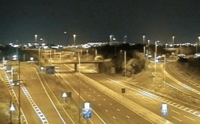 m25 closed in both direct essex following serious incident