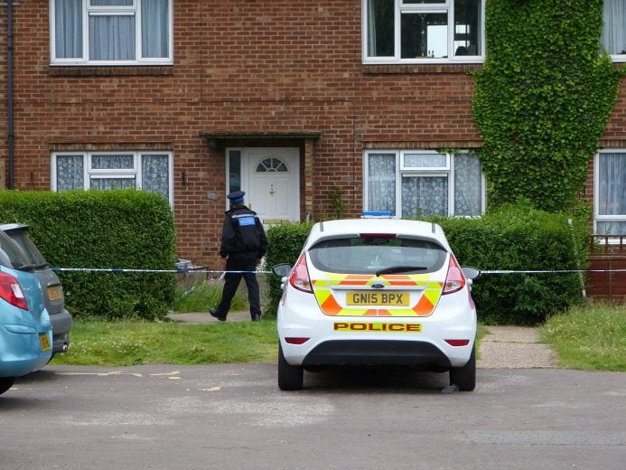 man rushed to hospital with serious stab wounds