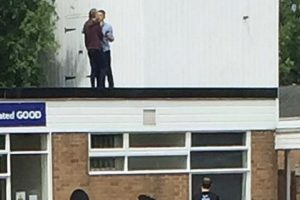 police have man charged after scaling nursery roof
