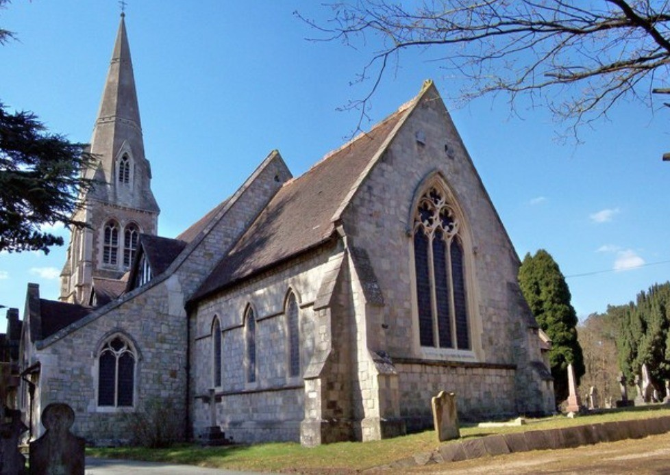 probe launched after grim discovery of body in camberley church yard