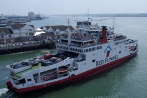 red funnel travel advise over the isle of wight festival period