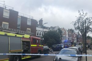 two people rescued and five others escape early morning house fire in hackney