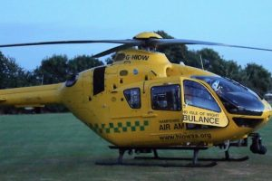 11 year mile stone for hampshire and isle of wight ambulance