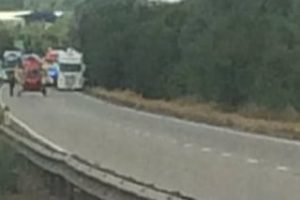 a12 closed in essex after a person is hit by a vehicle