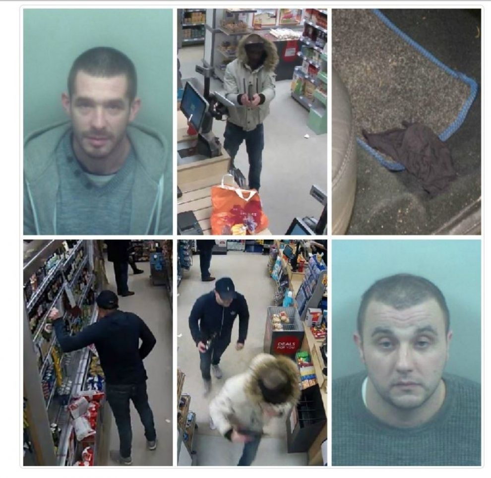 armed robbers who stole money from a convenience store in dartford have been jailed