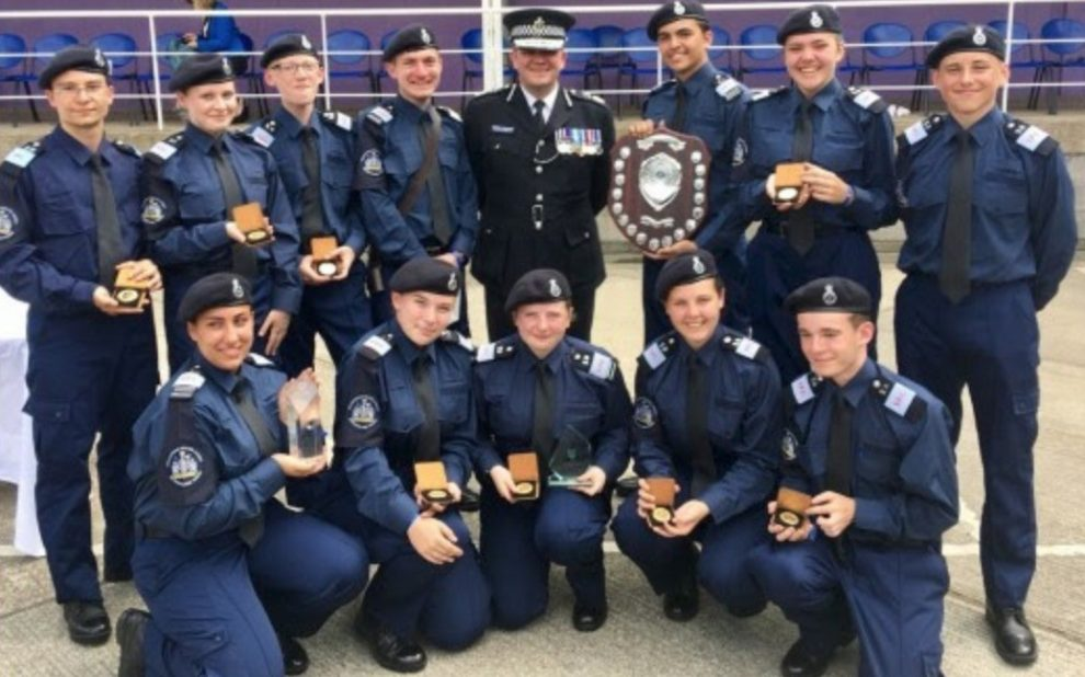 Croydon Police Cadets Scoop Top Award For Being The Best