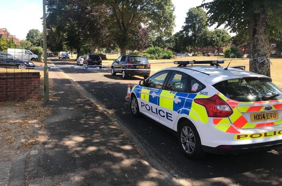 eastleigh street on lock down following serious attack