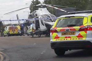 elderly pedestrian seriously hurt in ashford collision