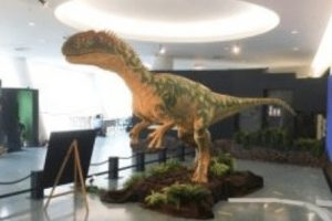 fearsome isle of wight dinosaur on tour