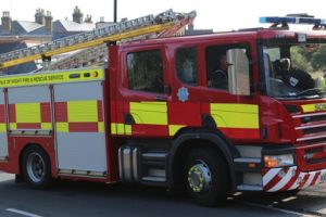 fire crew called to field fire in apse heath