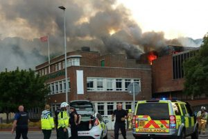 fire rips through disused dover night club