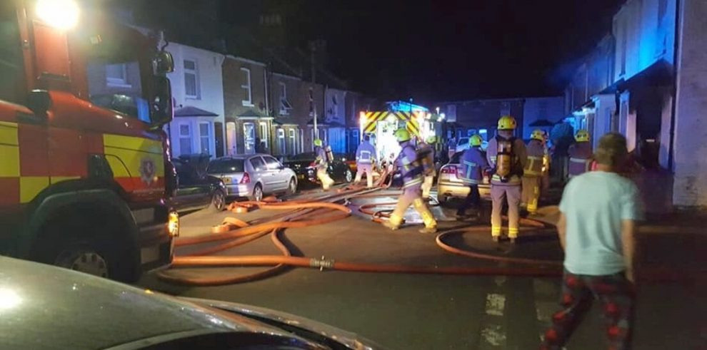 fire rips through property killing animals