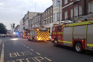 fire takes hold at former walkabout in southampton