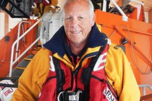 fond farewell to bembridge coxswain steve simmonds as he retired as the coxswain at bembridge rnli