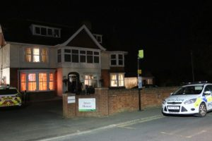 isle of wight care home on lockdown after police dog handler attacked by man